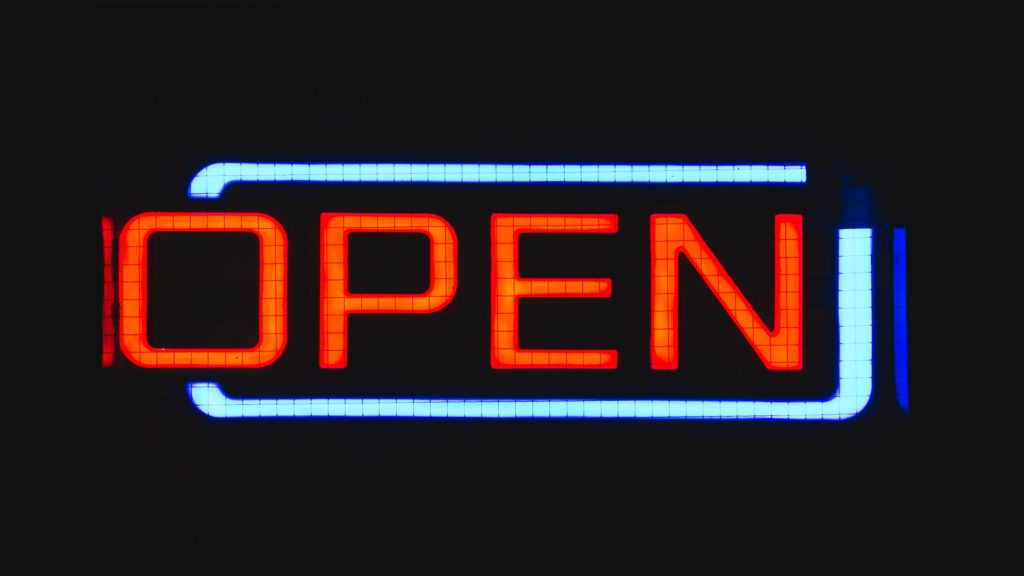 open marriage open sign